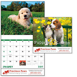 Puppies and Kittens 2017 calendar Item B7207